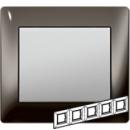 771945 Galea Life Черный Никель/Black Nickel Рамка 5-я гориз