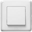 773609 Cariva Бел Выключатель 1-клавишный IP44