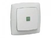 773613 Cariva Бел Выключатель кнопочный с подсветкой