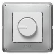 773617 Cariva Бел Светорегулятор поворотный 300W для л/н (вкл поворотом)