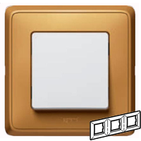 773663 Cariva Матовое золото Рамка 3-ая