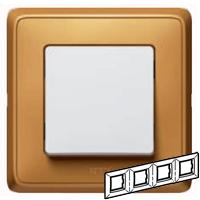 773664 Cariva Матовое золото Рамка 4-ая