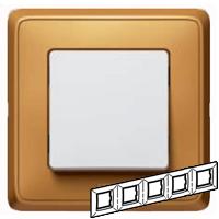 773665 Cariva Матовое золото Рамка 5-ая