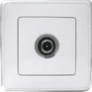 773679 Cariva Бел Розетка TV оконечная 10 дБ, 4-2150 МГц