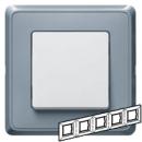 773695 Cariva Жемчужно-серый Рамка 5-ая
