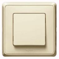 773700 Cariva Крем Выключатель 1-клавишный 16A