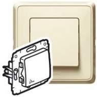 773709 Cariva Крем Выключатель IP44