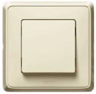 773711 Cariva Крем Выключатель кнопочный