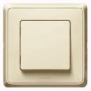 773757 Cariva Крем Переключатель 1-клавишный