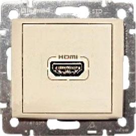 774185 Valena Крем Розетка HDMI