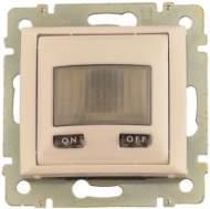 774189 Valena Крем Датчик движения Комфорт 1000 Вт, с N-клемой (3-х проводная схема подключения)