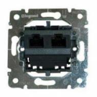 775762 PRO 21 Мех Розетка компьютерная 2-ая 5 кат UTP (RJ45) без лапок (крепление винтами)
