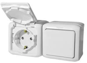 782318 Legrand Quteo Бел Блок Выключатель 1-кл+роз с/з с шт IP44  купить в Москве, цена в России: опт, розница | smartipad.ru