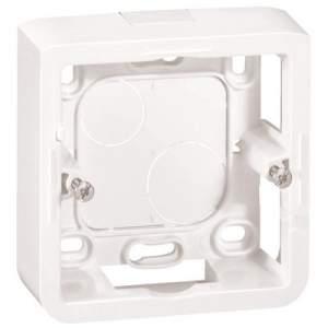 80241 Celiane Бел Коробка для накладного монтажа 1-ая