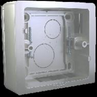 80244 Celiane Титан Коробка для накладного монтажа 1-ая