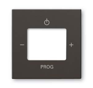 8200-0-0160 (8252-95) BJB Basic 55 Шато (чёрн) Плата центральная (накладка) для механизма цифрого FM-радио 8215 U
