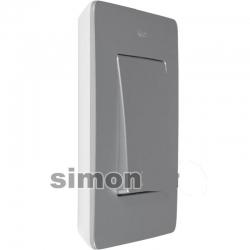 8200620-093 82 Detail Рамка на 2 поста, , белый - алюминий