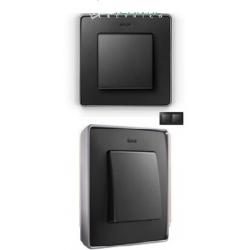 8201620-240 82 Detail Рамка, 2 поста, графит, основание алюминий