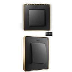 8201620-242 82 Detail Рамка, 2 поста, графит, основание золото