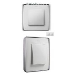 8201620-243 82 Detail Рамка, 2 пост, белый, основание алюминий