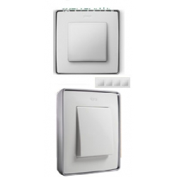 8201640-243 82 Detail Рамка, 4 пост, белый, основание алюминий