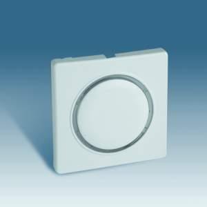82034-30 82 Бел Накладка светорегулятора сенсорного (Мех 75305-39)