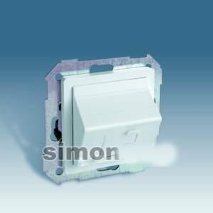 82578-30 75 Адаптер универсальный для 1 коннектора, белый