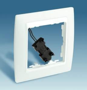 82613-30 82 Светящийся Рамка 1-ая для выключателей и кнопок