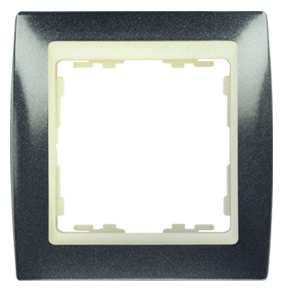 82714-60 82 Серый гранит/Слоновая кость Рамка 1-ая