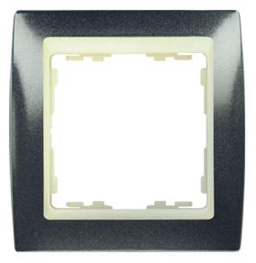 82734-60 82 Серый гранит/Слоновая кость Рамка 3-ая