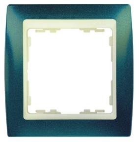 82734-64 82 Синий Металлик/Слоновая кость Рамка 3-ая