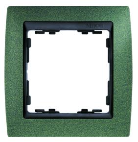 82814-65 82 Зеленый структурный/Графит Рамка 1-ая