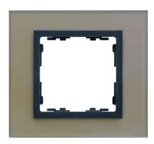 82837-34 82 Nature Рамка 3-ая медь - графит (стекло)