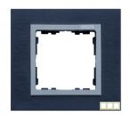 82937-38 82 Nature Сталь матовая чёрная/Алюминий/Металл Рамка на 3 поста