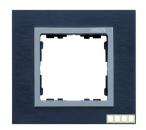 82947-38 82 Nature Сталь матовая чёрная/Алюминий/Металл Рамка на 4 поста