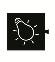"""82962-31 82 Световой фильтр-пиктограмма 82066 """"лампочка"""""""