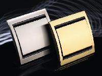 8407 AP NIE Olas Перламутровый металлик Накладка выключателя со шнурком/вывода кабеля