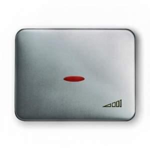 8460.2 AL NIE Olas Полированная сталь Накладка светорегулятора поворотного
