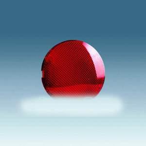 88065-32 88 Накладка светового индикатора красная линза