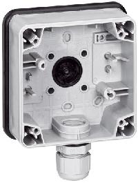 90491 Plexo Коробка 1 постовая горизонтальная IP66