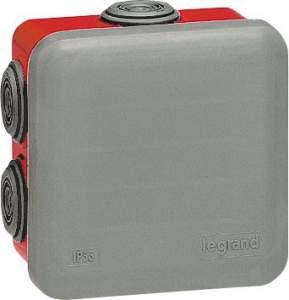 92015 Plexo Серый Коробка 80х80х45 IP55