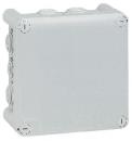 92032 Plexo Серый Коробка распределительная, 10 выводов,IP55 130х130х74