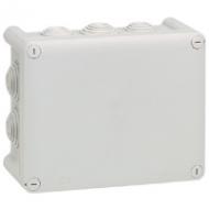 92042 Plexo Серый Коробка распределительная, 10 выводов,IP55 155х110х74