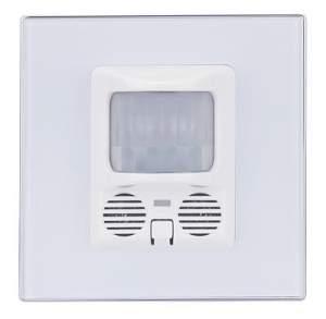 HDL-MSPU05.48 Настенный универсальный сенсор с нажимной клавишей (белое или черное стекло)