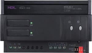 HDL-M/DL02.1 DIN диммер 2-канальный, 6А на канал, KNX