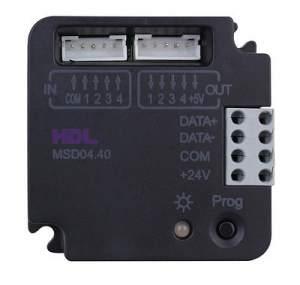 HDL-MSD04.40 4-контактный модуль входов, с функцией диммирования