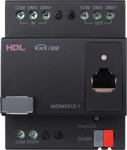 HDL-M/DMX512.1 KNX-DMX модуль, DIN