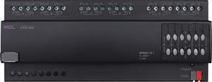 HDL-M/W06.10.1 DIN контроллер моторизованных штор, жалюзи, роллет на 6 каналов, 10А
