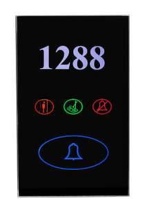 SB-3S-Bell Интеллектуальный дверной звонок, с подсветкой номера. Сенсорное стекло