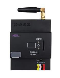 HDL-MGSM.431 DIN SMS модуль с Ethernet интерфейсом